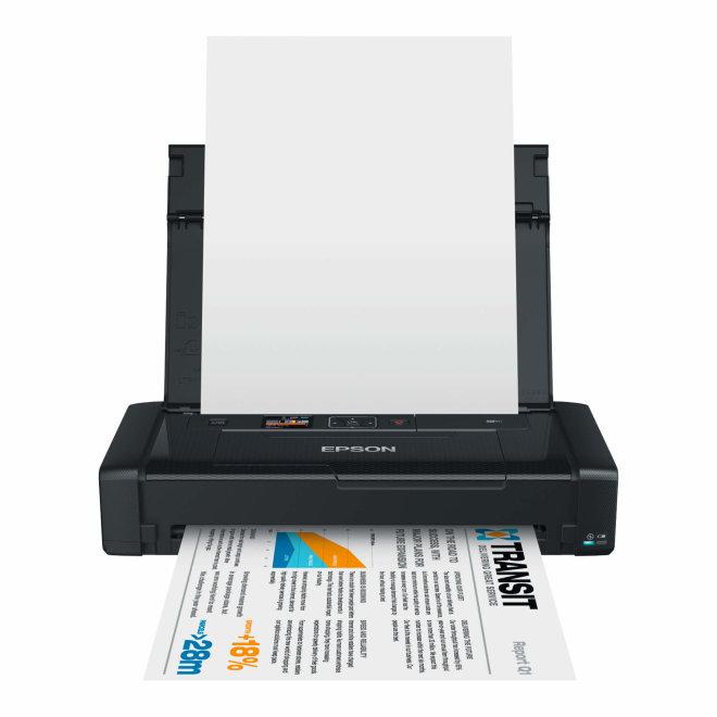 Epson WorkForce WF-100W, mobilni pisač, A4, WiFi, USB, 60 – 300 g/m² [C11CE05403]