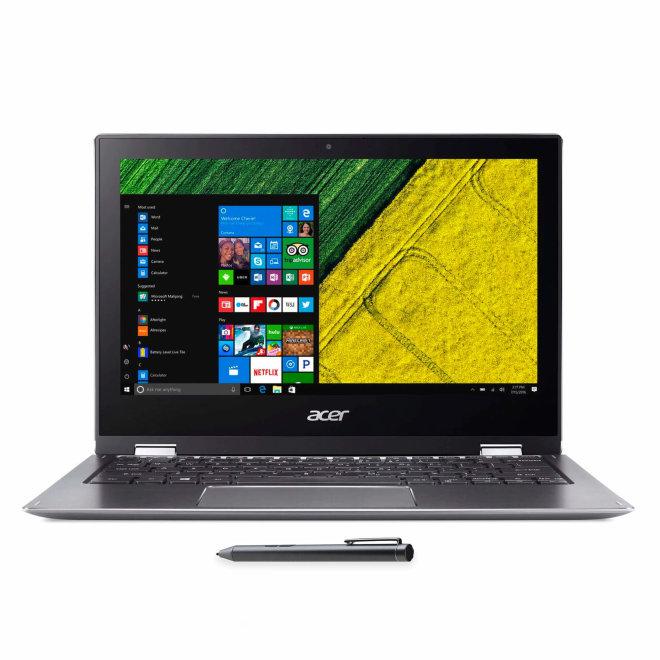 "Acer Spin 1, Intel Pentium, 11.6"" Full HD, 4GB RAM, 64GB eMMC, Intel HD Graphics, Win10 Home, Stylus pen, 1,25 kg [NX.H67EX.007]"