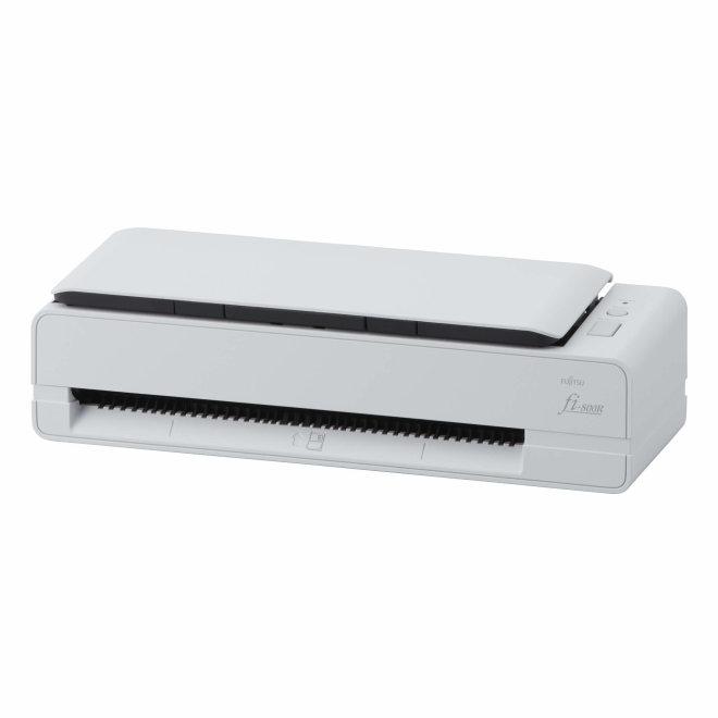 Fujitsu fi-800R, skener za hotele, recepcije, izdvaja podatke iz putovnica i osobnih iskaznica, najmanji u svojoj klasi, A4, ADF, USB 3.2, Windows, 2,0 kg [PA03795-B005]