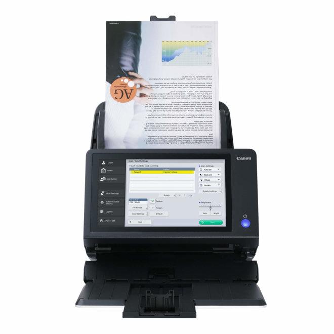 Canon ScanFront 400, mrežni skener, A4 format, Ethernet, USB, ADF 60 listova, Touchscreen, 6000 skenova dnevno [1255C002]