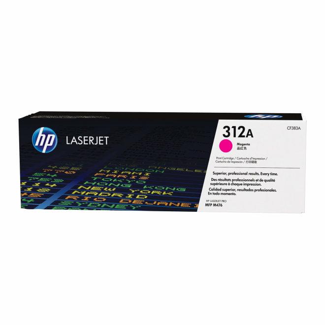 HP 312A Magenta LaserJet Toner Cartridge, cca 2.700 ispisa, Original [CF383A]