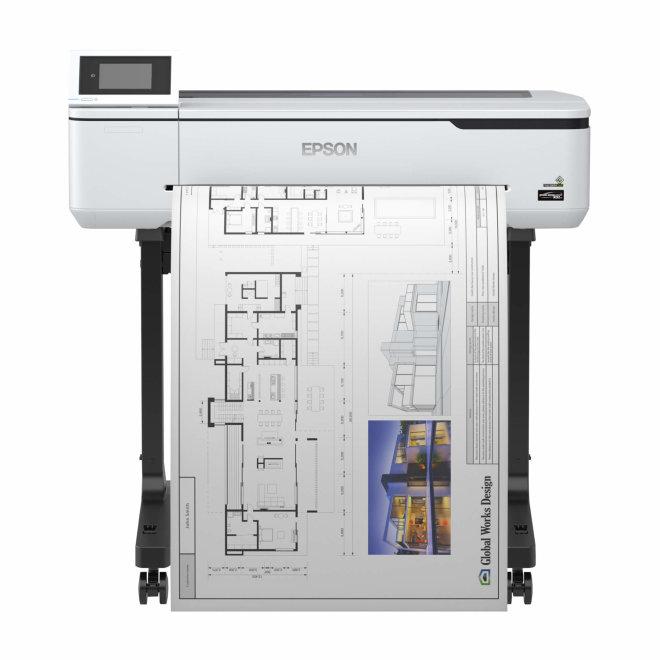 "Epson SureColor SC-T3100, tintni ploter u boji, 24"", 4 boje, 2400 x 1200 dpi, 1GB RAM, WiFi, mreža, USB, postolje [C11CF11302A0]"