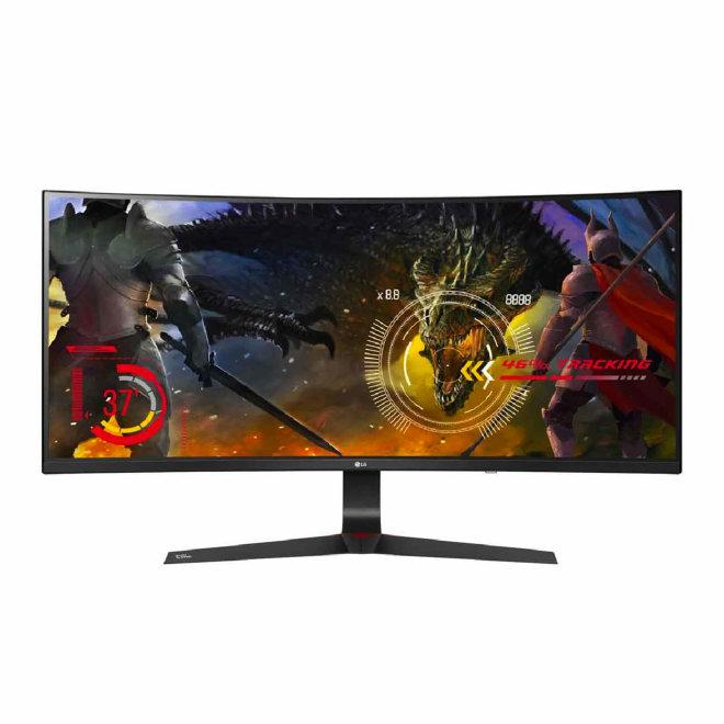 "LG Monitor 34UC89G-B, 34"", 21:9, UltraGear™ Full HD IPS Curved LED Gaming Monitor, G-SYNC™, HDMI, DisplayPort, USB, Black [34UC89G-B]"