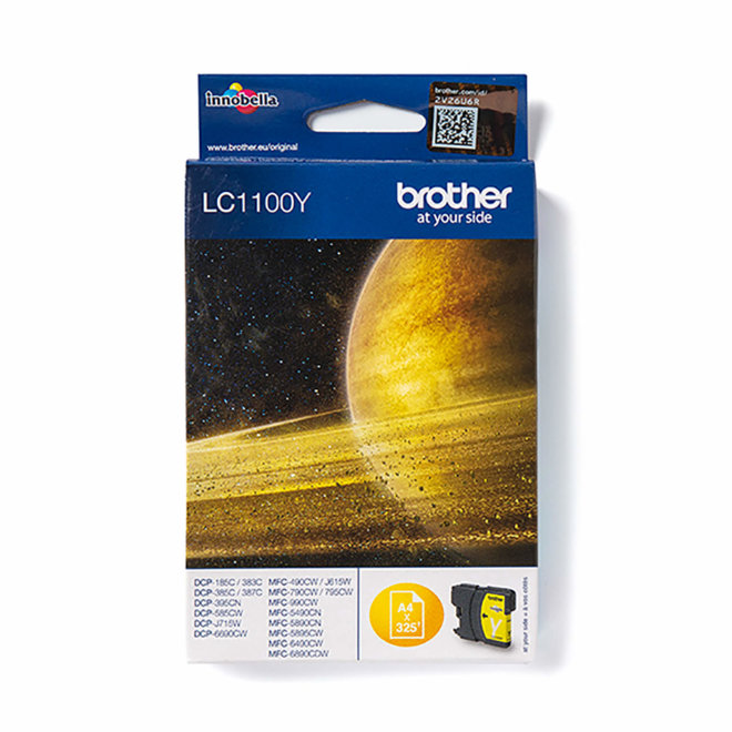 Brother tinta LC1100Y, Yellow, cca 325 stranica, Original [LC1100Y]