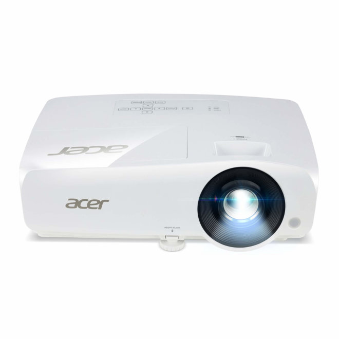 Acer X1225i, projektor, DLP 3D ready XGA, WiFi, HDMI, VGA in/out, Ethernet, 3,600 lm, Bijela, 2,6 kg [MR.JRB11.001]