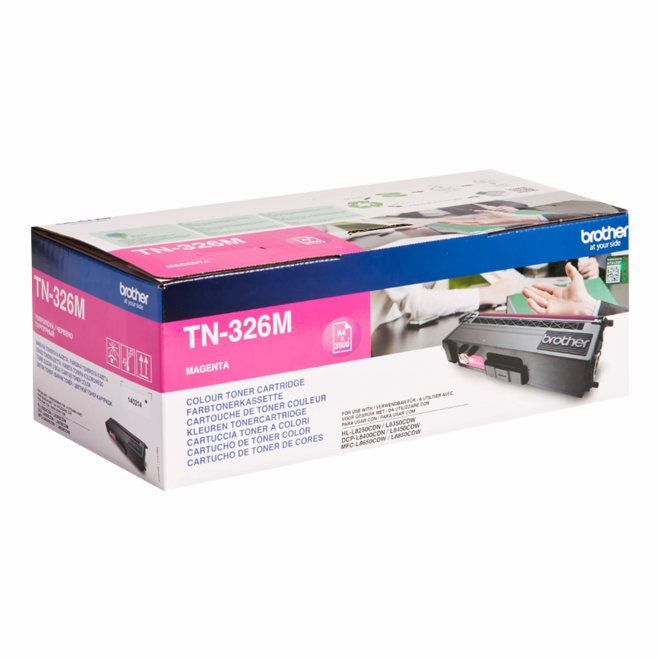 Brother toner TN-326M, Magenta, cca 3.500 ispisa, Original [TN326M]
