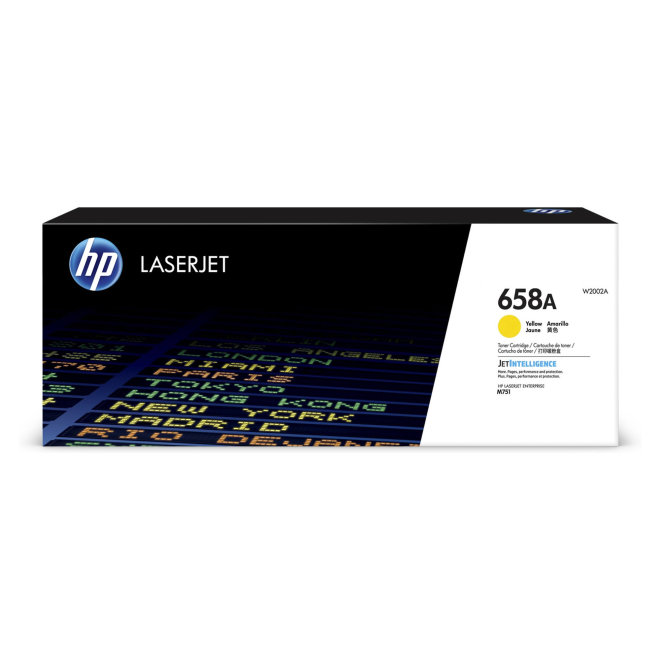 HP 658A Yellow Original LaserJet Toner Cartridge [W2002A]