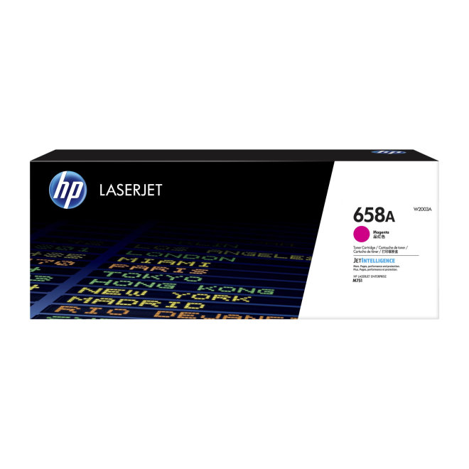 HP 658A Magenta Original LaserJet Toner Cartridge [W2003A]