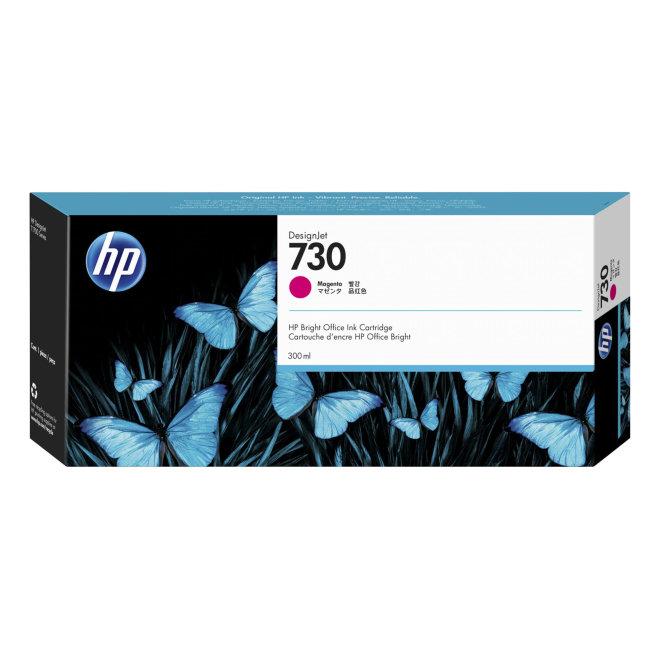 HP 730 300-ml Magenta DesignJet Ink Cartridge, tinta, Original [P2V69A]