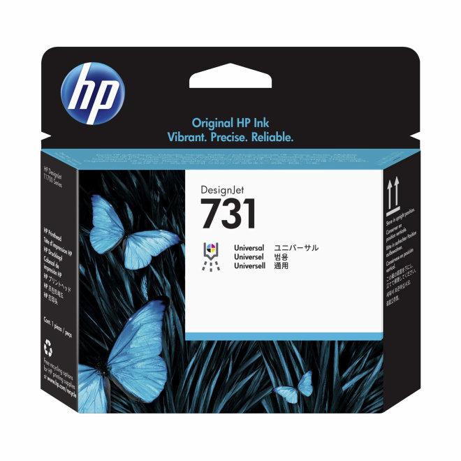 HP 731 DesignJet Printhead/Glava, Original [P2V27A]