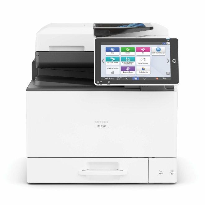 Nashuatec IM C300, višefunkcijski pisač (pisač, skener, kopirka), laserski ispis u boji, A4, USB, mreža, dupleks, SPDF [418559]
