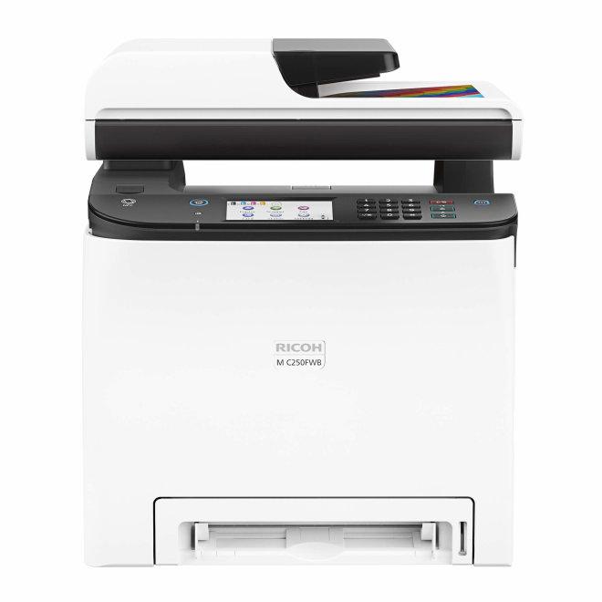 Ricoh M C250FWB, višefunkcijski pisač, laserski ispis u boji, A4, WiFi, USB, mreža, dupleks, SPDF [408327]