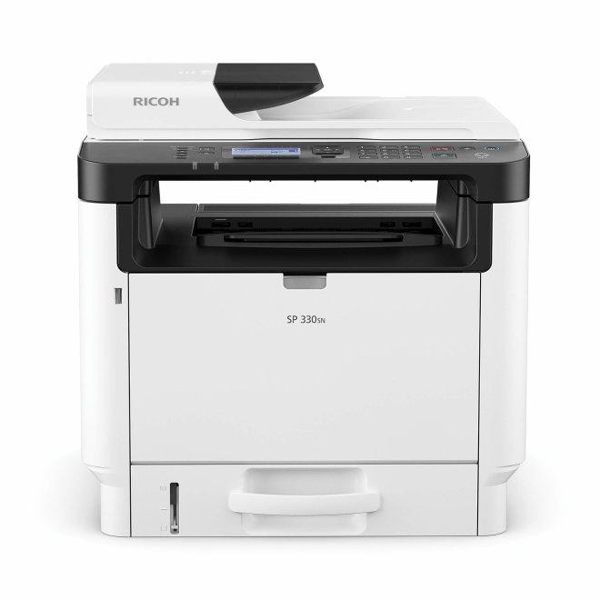 Ricoh SP 330SN, višefunkcijski pisač, laserski crno-bijeli ispis, A4, USB, mreža, ADF [408274]