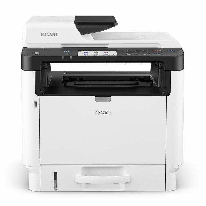 Ricoh SP 3710SF, višefunkcijski pisač, laserski crno-bijeli ispis, A4, USB, mreža, ADF [408267]