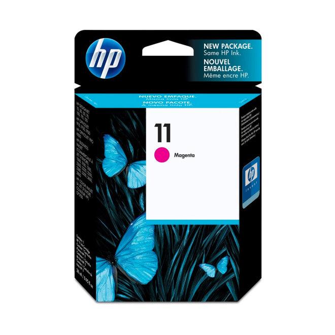 HP 11 Magenta Ink Cartridge, tinta, cca 2.000 ispisa, Original [C4837A]