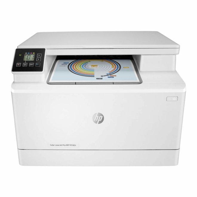 HP Color LaserJet Pro MFP M182n, višefunkcijski pisač, laserski ispis u boji, A4, Ethernet, USB, 220 g/m² [7KW54A#B19]