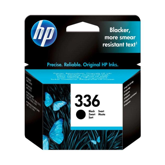 HP 336 Black Ink Cartridge, tinta, cca 220 ispisa, Original [C9362EE#UUS]