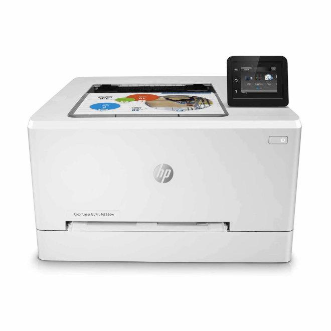 HP Color LaserJet Pro M255dw, jednofunkcijski pisač, laserski ispis u boji, A4 format, WiFi, USB, Ethernet, dupleks, touchscreen [7KW64A#B19]