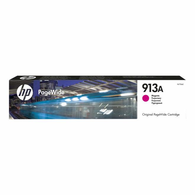 HP 913A Magenta PageWide Cartridge, tinta, cca 3.000 ispisa, Original [F6T78AE]
