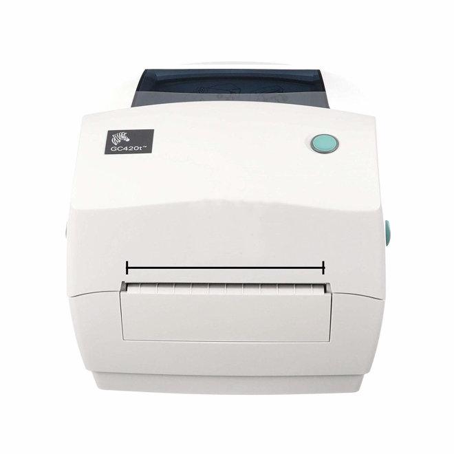 Zebra GC420TT, stolni pisač za naljepnice, 203 dpi, USB, RS232, LPT [ZPBDGC420TT]