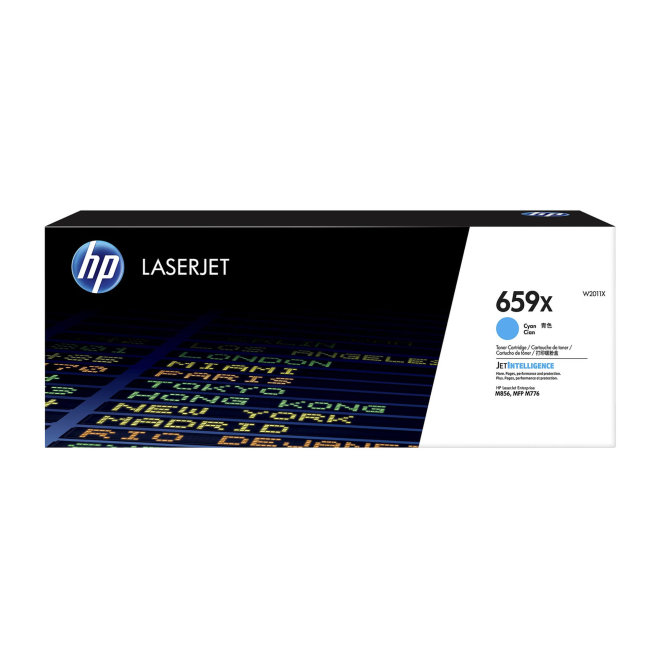 HP 659X High Yield Cyan LaserJet Toner Cartridge, kazeta, cca 29.000 ispisa, Original [W2011X]