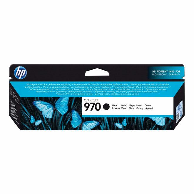 HP 970 Black Ink Cartridge, tinta, cca 3.000 ispisa, Original [CN621AE]