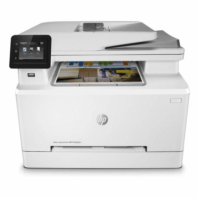 HP Color LaserJet Pro MFP M283fdn, višefunkcijski pisač, laserski ispis u boji, A4, Ethernet, USB, ADF, Dupleks, Touchscreen, Apple AirPrint, 220 g/m² [7KW74A#B19]