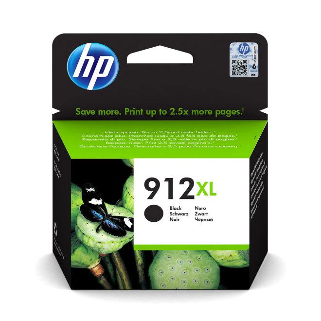 HP 912XL High Yield Black Ink Cartridge, tinta, cca 825 ispisa, Original [3YL84AE#BGX]