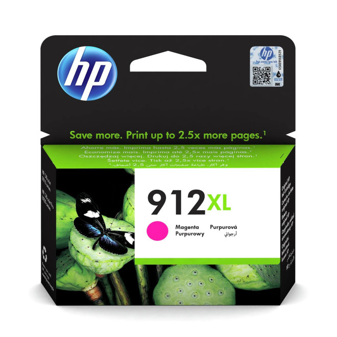 HP 912XL High Yield Magenta Ink Cartridge, tinta, cca 825 ispisa, Original [3YL82AE#BGX]