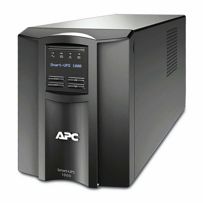 APC Smart-UPS 1000VA LCD 230V with SmartConnect, besprekidno napajanje, 230V, 700W, 8 x IEC utičnica, Black [SMT1000IC]