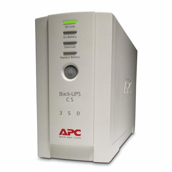 APC Back-UPS 350, besprekidno napajanje, 230V, 480W, 210W, USB/SERIAL, 3 x IEC utičnica, Beige [BK350EI]