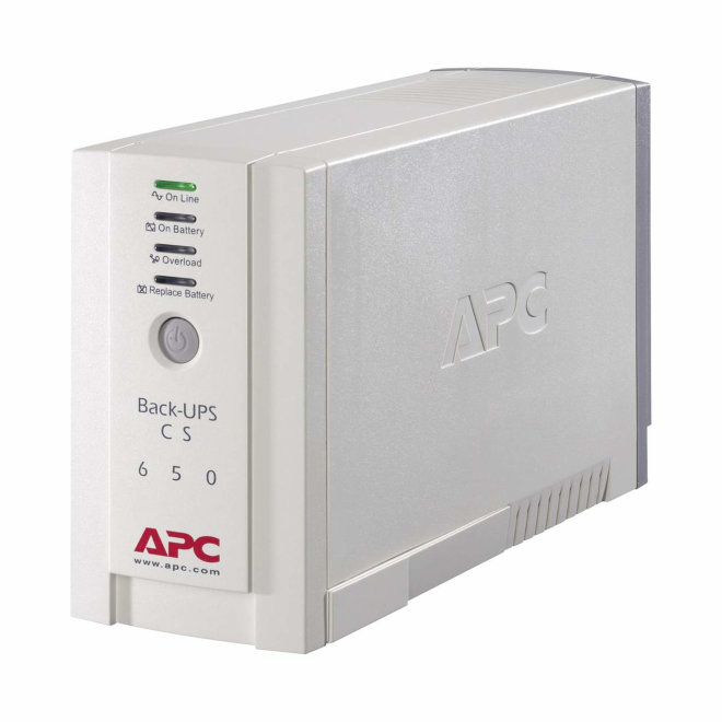 APC Back-UPS 650VA, besprekidno napajanje, 230V, 400W, 3 x IEC utičnica, Beige [BK650EI]