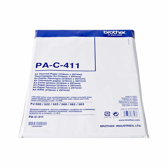 Brother termalni papir, A4 format, 100 listova, Original [PAC411]