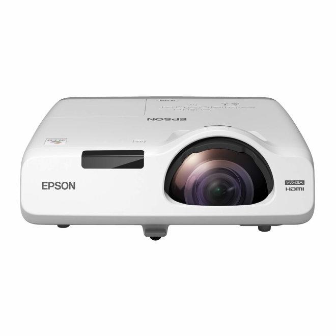 Epson EB-535W, projektor, 3LCD, WXGA, HD, Ethernet, USB, HDMI, VGA in/out, 3,400 lm, Bijela, 3,7 kg [V11H671040]