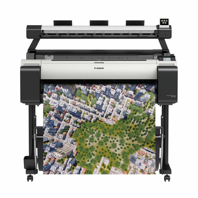 "Canon imagePROGRAF TM-300 MFP L36ei, višefunkcijski pisač, ploter 36"", 5 boja, 3"" LCD zaslon u boji, WiFi, USB, Ethernet [3058C003AA+3421V853]"