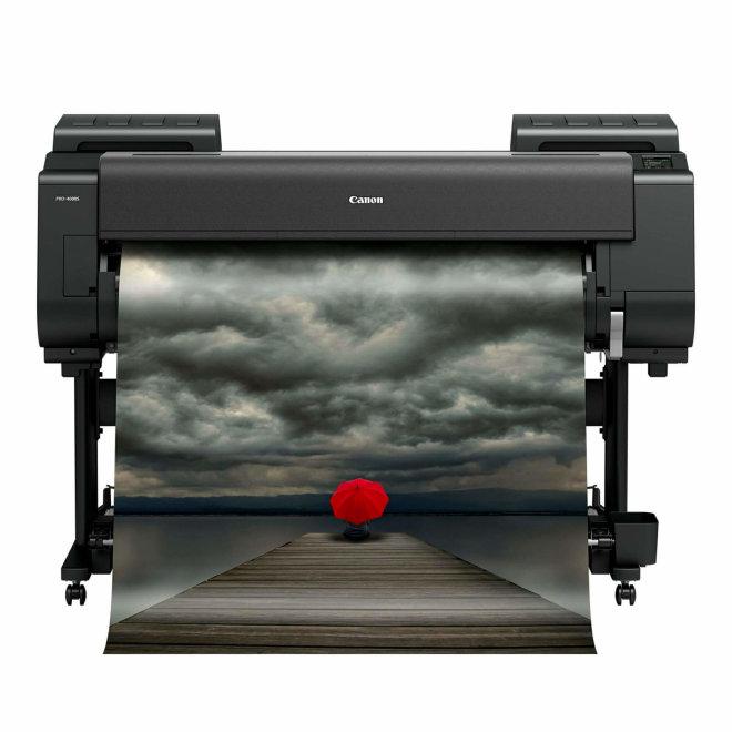 "Canon imagePROGRAF PRO-4000S, 44"" ploter, tintni ispis u boji, 8 boja, WiFi, USB, Ethernet, 3,5"" dodirni LCD zaslon u boji, Print Studio Pro [CF1123C003AA]"