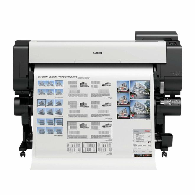 "Canon imagePROGRAF TX-4000, 44"" ploter, tintni ispis u boji, 5 boja, CAD, GIS, posteri, WiFi, USB, Ethernet, 3"" dodirni LCD zaslon u boji [2444C003AA]"