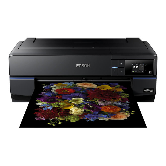Epson SureColor SC-P800, jednofunkcijski stolni foto pisač, A2 format, tintni ispis u boji, 9 boja, 73 - 1.000 g/m², WiFi, USB, Ethernet [C11CE22301BX]