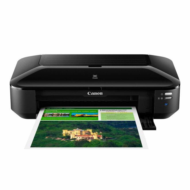 Canon PIXMA iX6850, jednofunkcijski pisač, A3+ format, tintni ispis u boji, 5 boja, 64-300 g/m², WiFi, USB, Ethernet [BS8747B006AA]