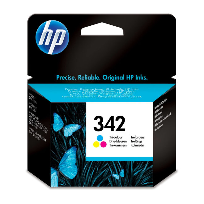 HP 342 Tri-color Original Ink Cartridge, tinta, cca 220 ispisa, Original [C9361EE#UUS]