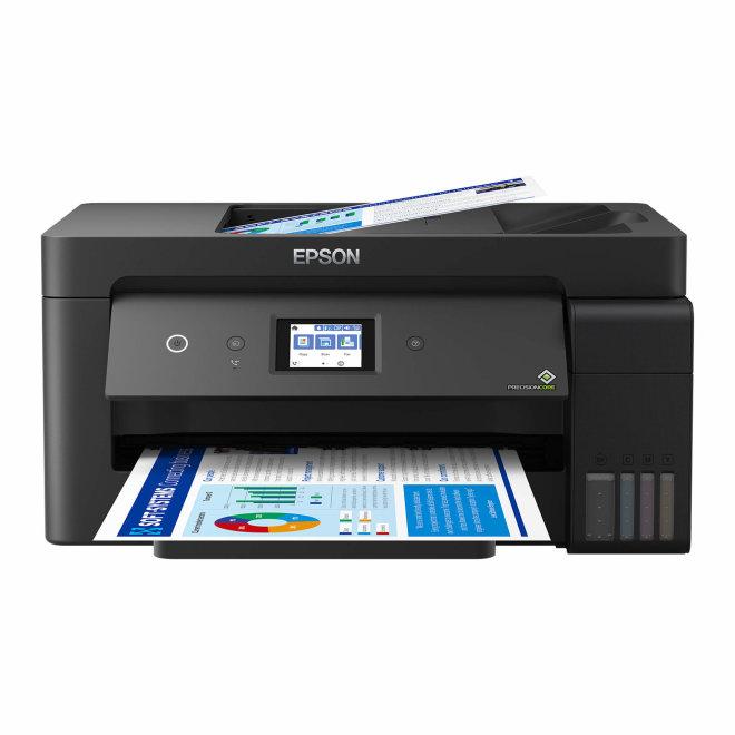 Epson EcoTank L14150, višefunkcijski pisač, A3+ format, tintni ispis u boji, Dupleks, ADF, WiFi, USB, Ethernet, Touchscreen [C11CH96402]