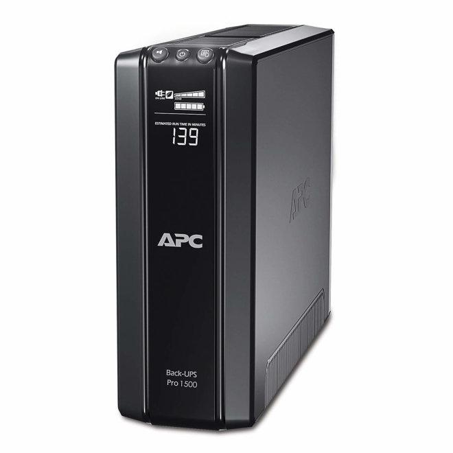 APC Power-Saving Back-UPS Pro 1500, besprekidno napajanje, 230V, 865W, 10 x IEC utičnica, Black [BR1500GI]