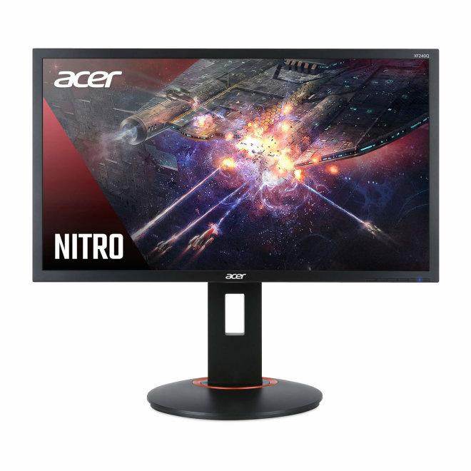 "Acer XF240Q Sbiipr, LED monitor, 23.6"", 1920 x 1080 Full HD (1080p) @ 144 Hz, TN, 300 cd/m², 1000:1, 0.5 ms, 2 x HDMI, DisplayPort, Black [UM.UX0EE.S01]"
