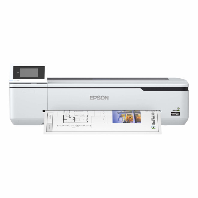 "Epson SureColor SC-T2100 Wireless (bez postolja), 24"" ploter, 4 boje, WiFi, Ethernet, USB, Touchscreen, Automatski rezač [C11CJ77301A0]"