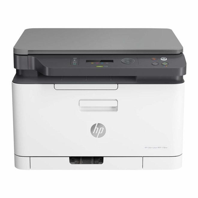 HP Color Laser MFP 178nw, višefunkcijski pisač, laserski ispis u boji, A4, WiFi, Ethernet, USB, 60 – 220 g/m² [4ZB96A#B19]