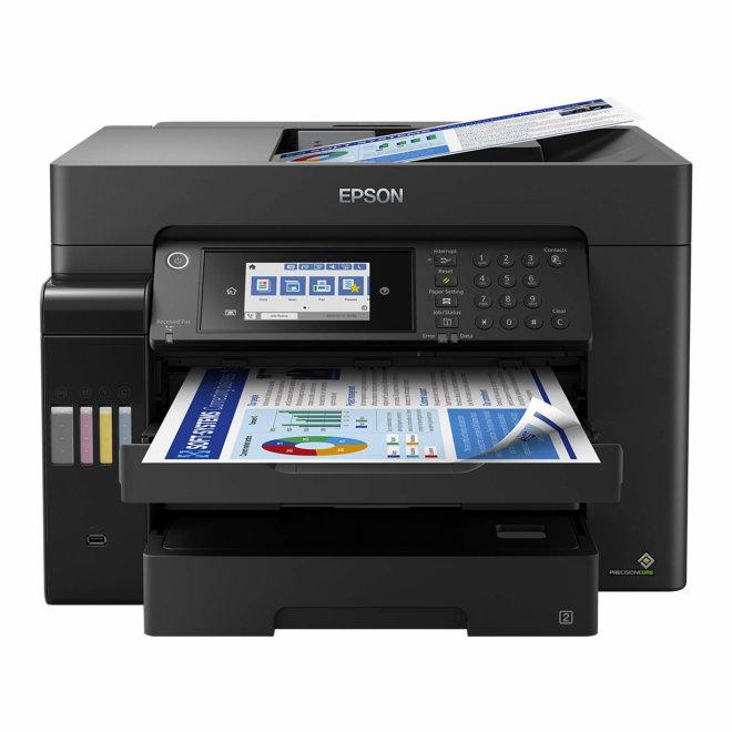 Epson EcoTank L15160, višefunkcijski pisač, tintni ispis u boji, A3+, WiFi, Ethernet, USB, Touchscreen, Duplex, ADF, 3 ladice, 64 – 255 g/m² [C11CH71402]