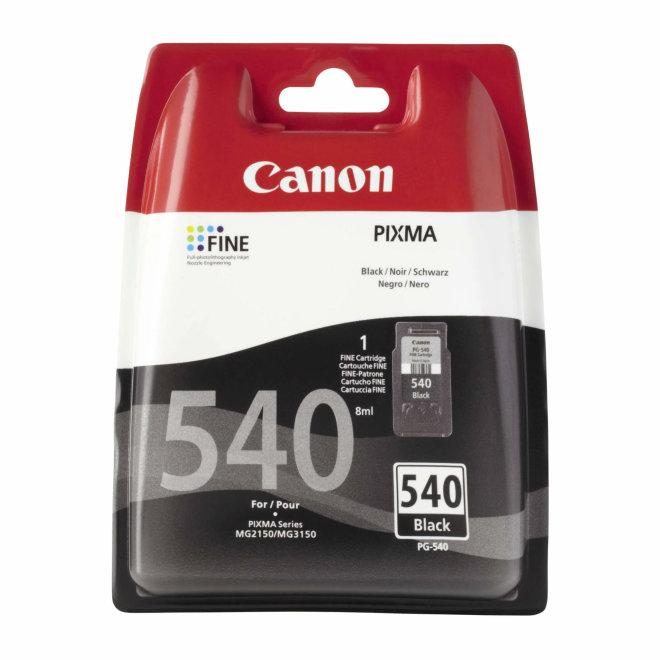 Canon tinta PG-540, Black, cca 180 ispisa, Original [5225B005]