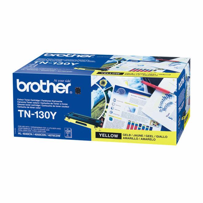 Brother toner TN-130Y, Yellow, cca 1.500 stranica, Original [TN130Y]