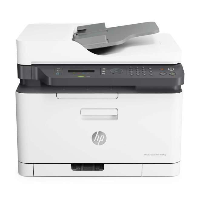 HP Color Laser 179fnw, višefunkcijski pisač, laserski ispis u boji, A4, WiFi, Ethernet, USB, ADF, 220 g/m² [4ZB97A#B19]