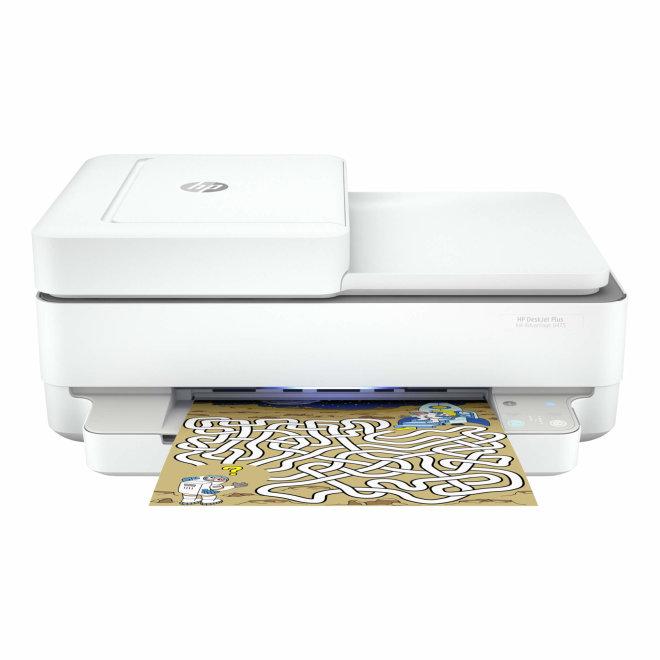 HP DeskJet Plus Ink Advantage 6475, višefunkcijski pisač, tintni ispis u boji, A4, WiFi, USB, ADF, Apple AirPrint, 60 – 300 g/m² [5SD78C#670]
